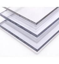 Поликарбонат монолитный, мм 10 (Прозрачный) 2050х3050