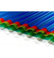 Профилированный поликарбонат Borrex цветной 0.8 мм