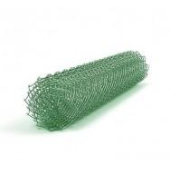 Сетка рабица с полимерным покрытием 25х25х2.5, раскрой 1.5х10