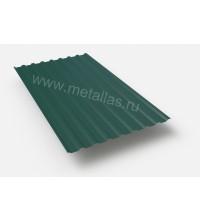 Профнастил C-20-0.4-1150х2000 зеленный RAL 6005