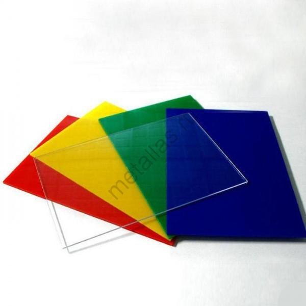 Поликарбонат монолитный (Цветной) 8 мм