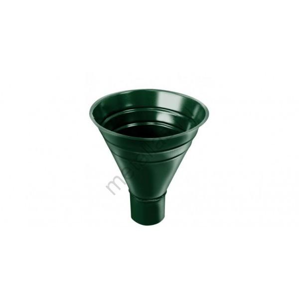 Воронка водосборная, 250/90 мм RAL 6005 зеленый мох